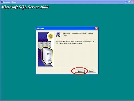 Установил sql server 2000, установился без проблем, перезагрузился, устанавливаю sp4